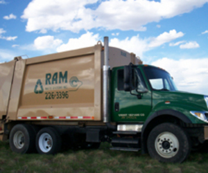Ram Waste Systems serves the Northern Colorado area, providing trash and recycle pickup for residential, commercial, and industrial customers.
